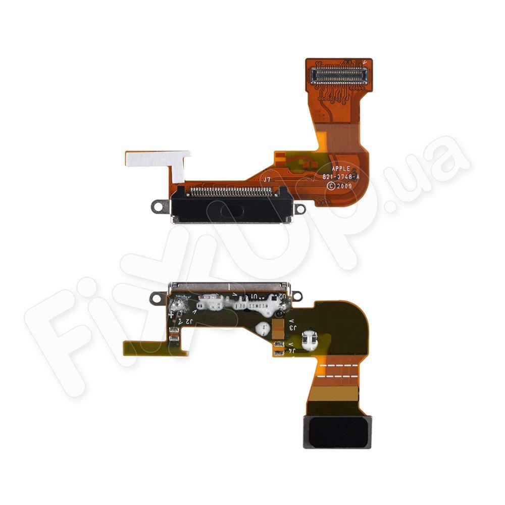 Шлейф с разъемом зарядки и компонентами для iPhone 3GS
