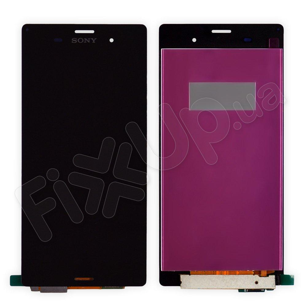 Дисплей Sony Xperia Z3 D6603, D6643, D6653, D6633 с тачскрином в сборе, цвет черный