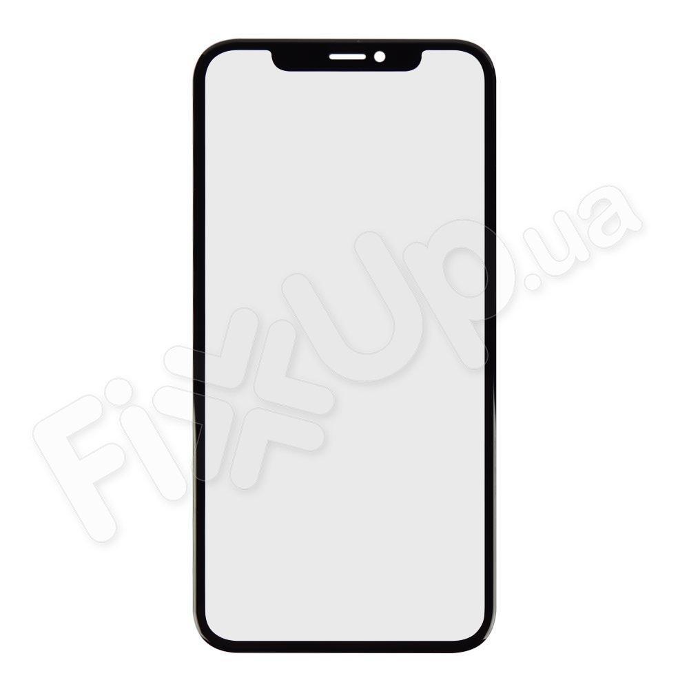 Стекло корпуса с ОСА пленкой для iPhone 11 (6.1), цвет черный
