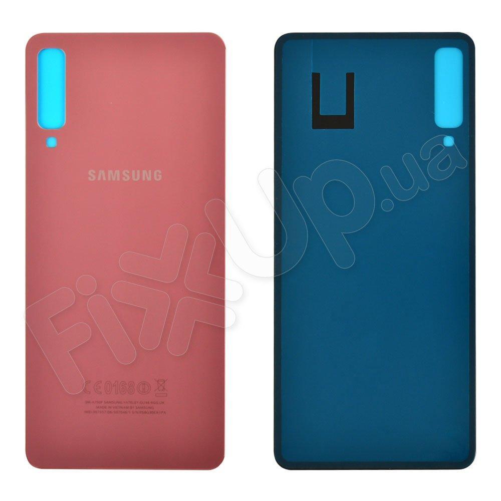Задняя крышка для Samsung A750 Galaxy A7 (2018), цвет розовый