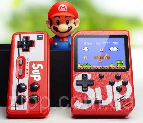 Игровая приставка 400 игр Sup GameBox 8bit+ Джойстик | Портативная игровая приставка