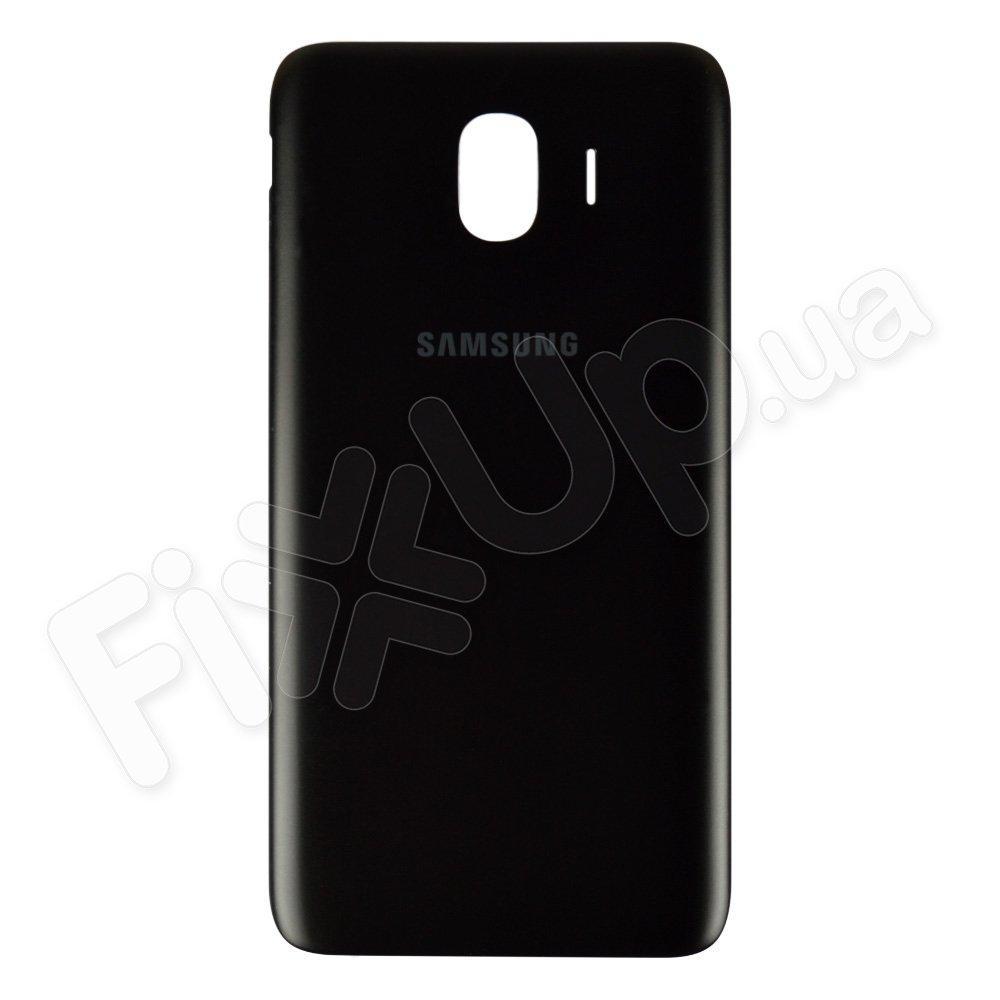 Задняя крышка для Samsung J400 Galaxy J4 (2018), цвет черный
