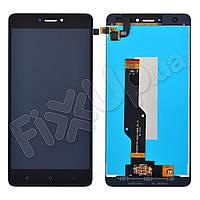 Дисплей для Xiaomi Redmi Note 4 4X Snapdragon 625 с тачскрином, цвет черный, оригинал (#BV055FHM-N00