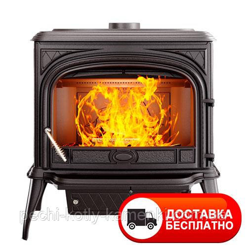Чугунная печь KawMet S5 (11.3 KW) Premium с вторичным дожигом