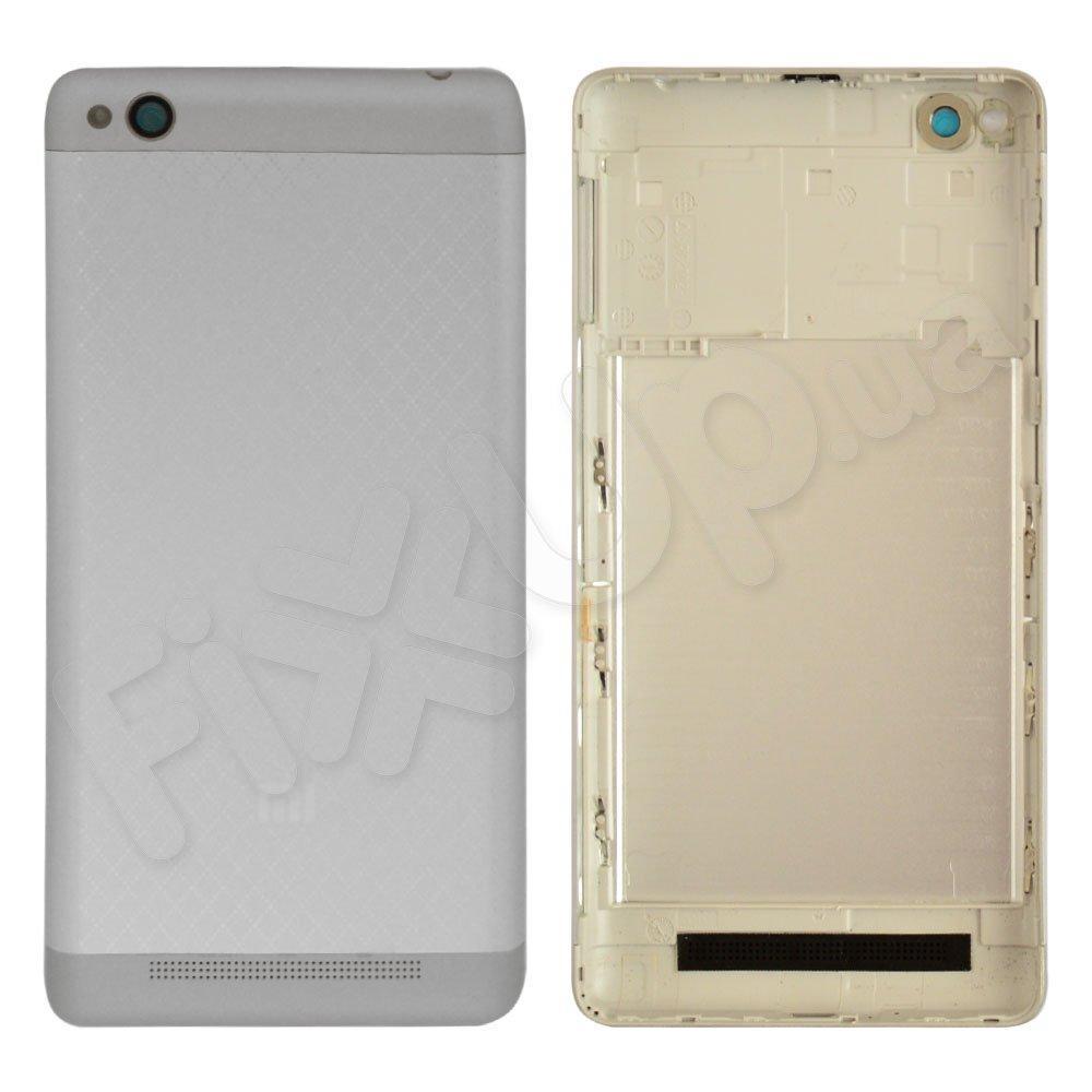 Задняя крышка для Xiaomi Redmi 3, цвет серебро, оригинал