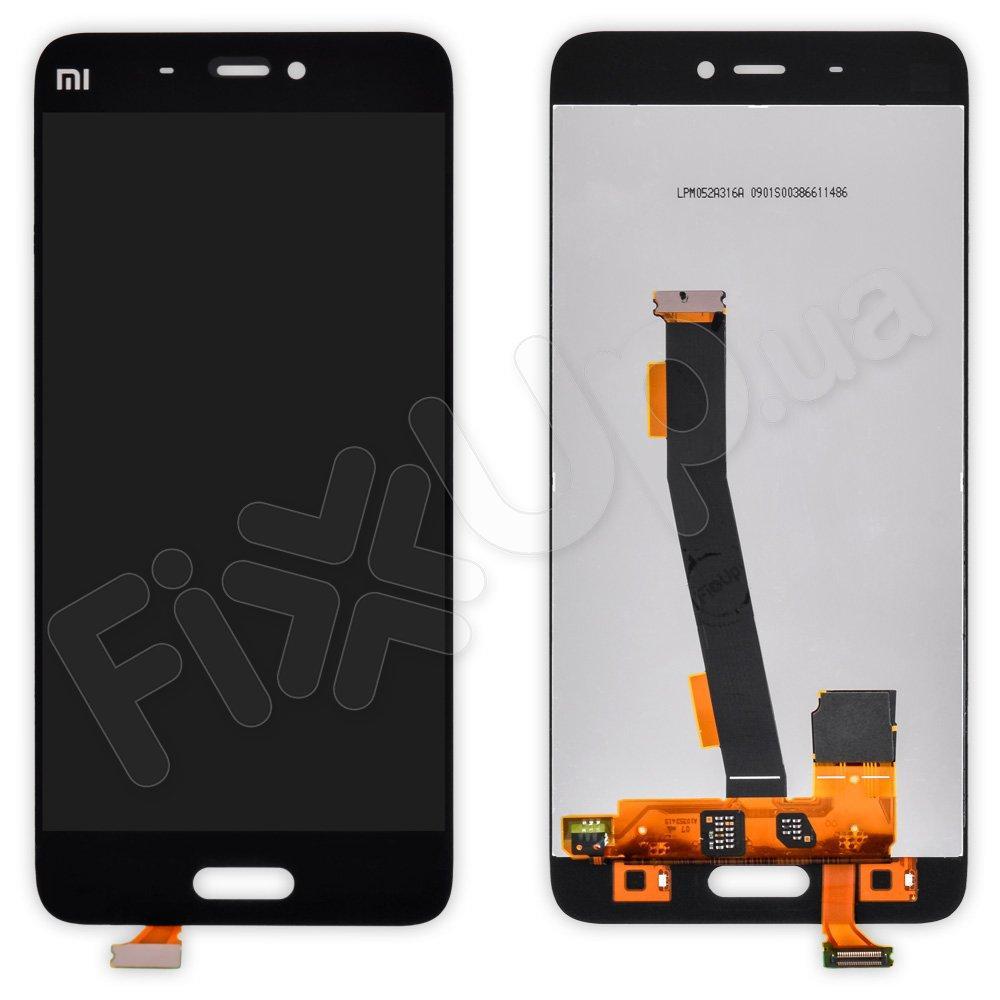 Дисплей для Xiaomi Mi5, Mi5 Pro с тачскрином в сборе, цвет черный, копия высокого качества