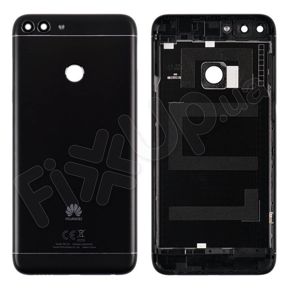 Задняя крышка для Huawei P Smart/Enjoy 7s (FIG-L31/FIG-LX1), цвет черный