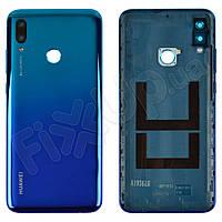 Задняя крышка для Huawei P Smart 2019 (POT-L21, POT-LX1), цвет синий, оригинал
