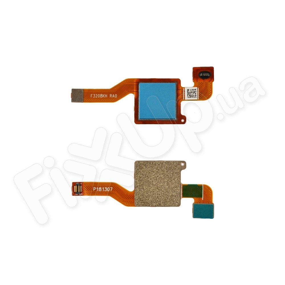 Шлейф для Xiaomi Note 5/Note 5 Pro с сканером отпечатка, цвет синий