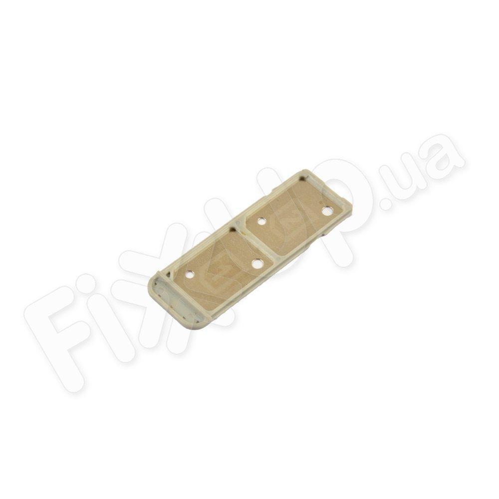 Держатель сим карты для Sony F3112/F3116 Xperia XA Dual Sim, цвет белый