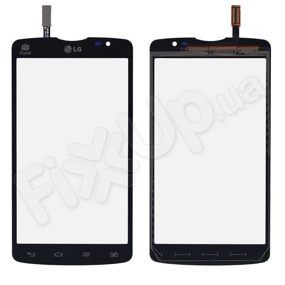 Тачскрин LG D380 L80, цвет черный, на 2 sim карты