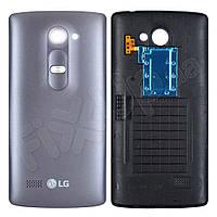 Задня кришка LG H324 Leon Y50, колір сірий