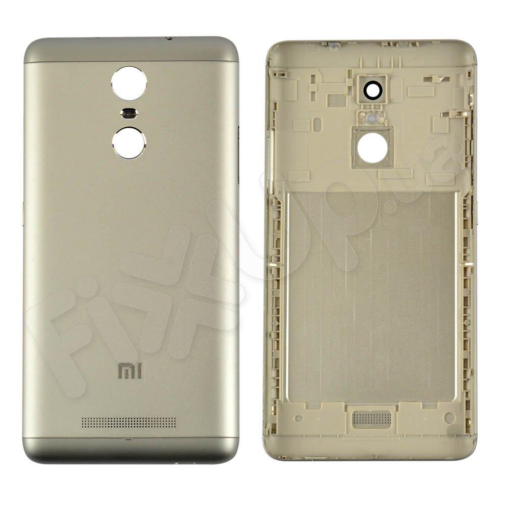 Задняя крышка для Xiaomi Redmi Note 3 Pro 147mm, цвет серебро