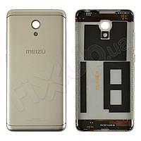 Задняя крышка для Meizu M6, цвет серебро