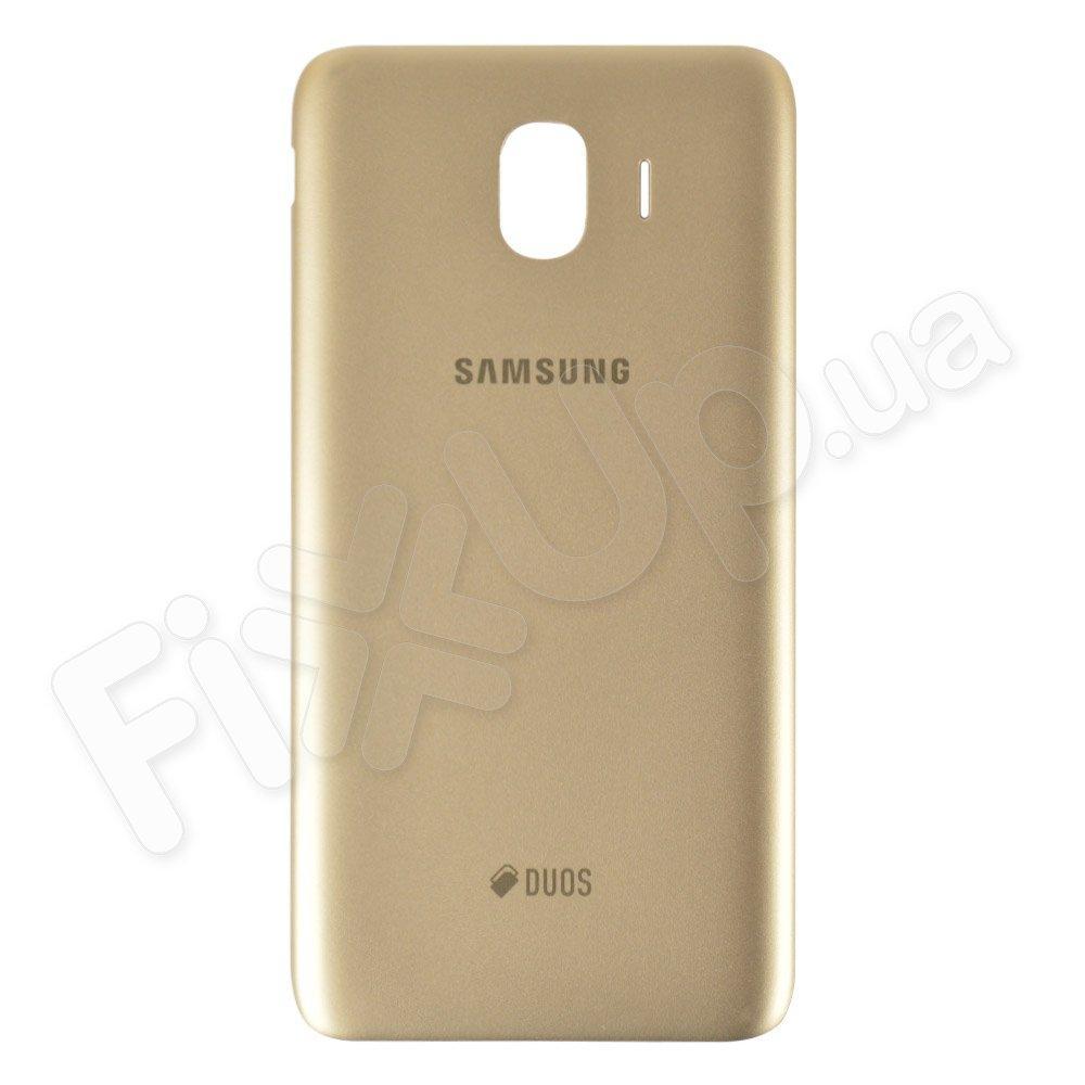 Задняя крышка для Samsung J400 Galaxy J4 (2018), цвет золотой