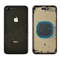 Корпус для iPhone 8 Plus, цвет space grey, оригинал