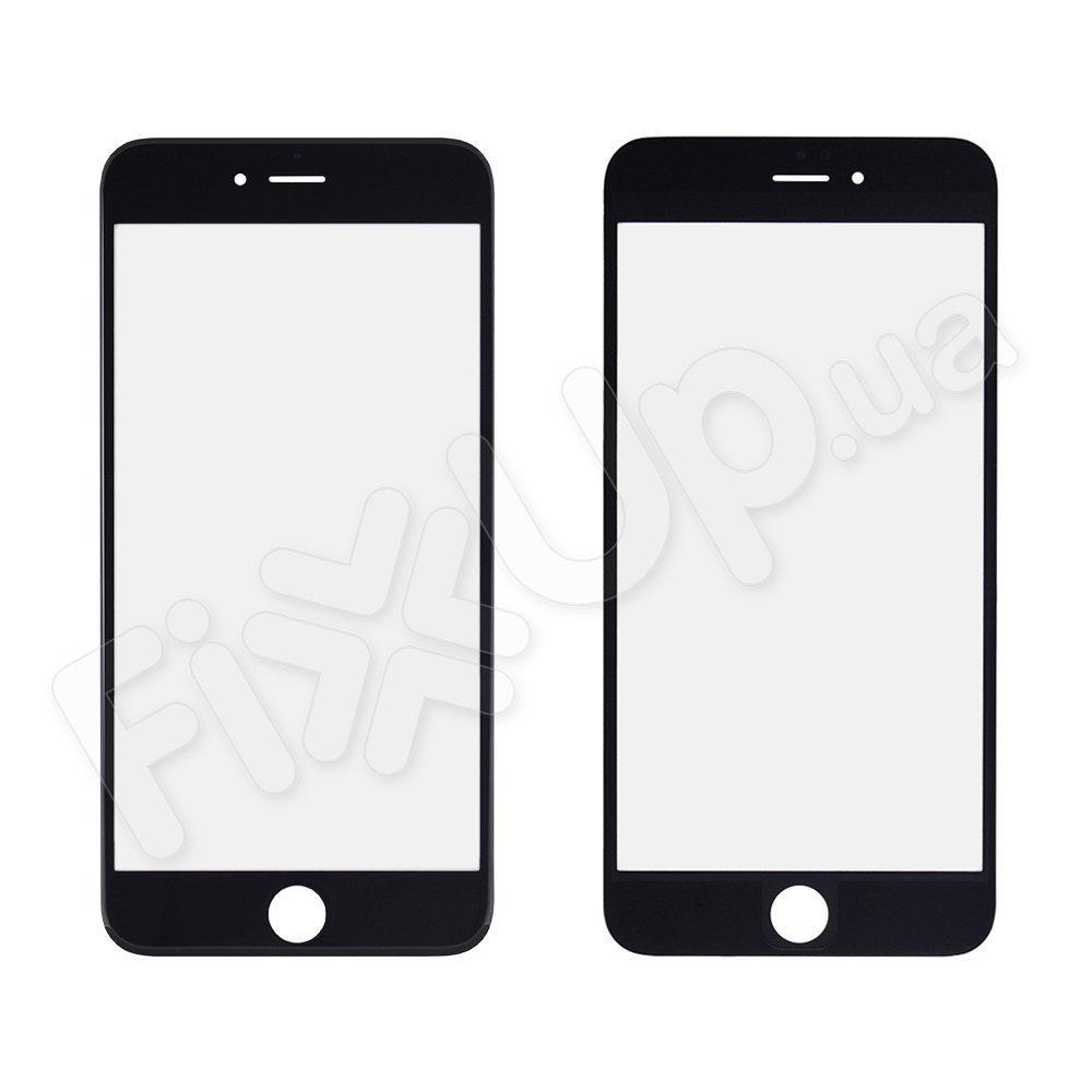 Стекло корпуса для iPhone 6 Plus (5.5), цвет черный