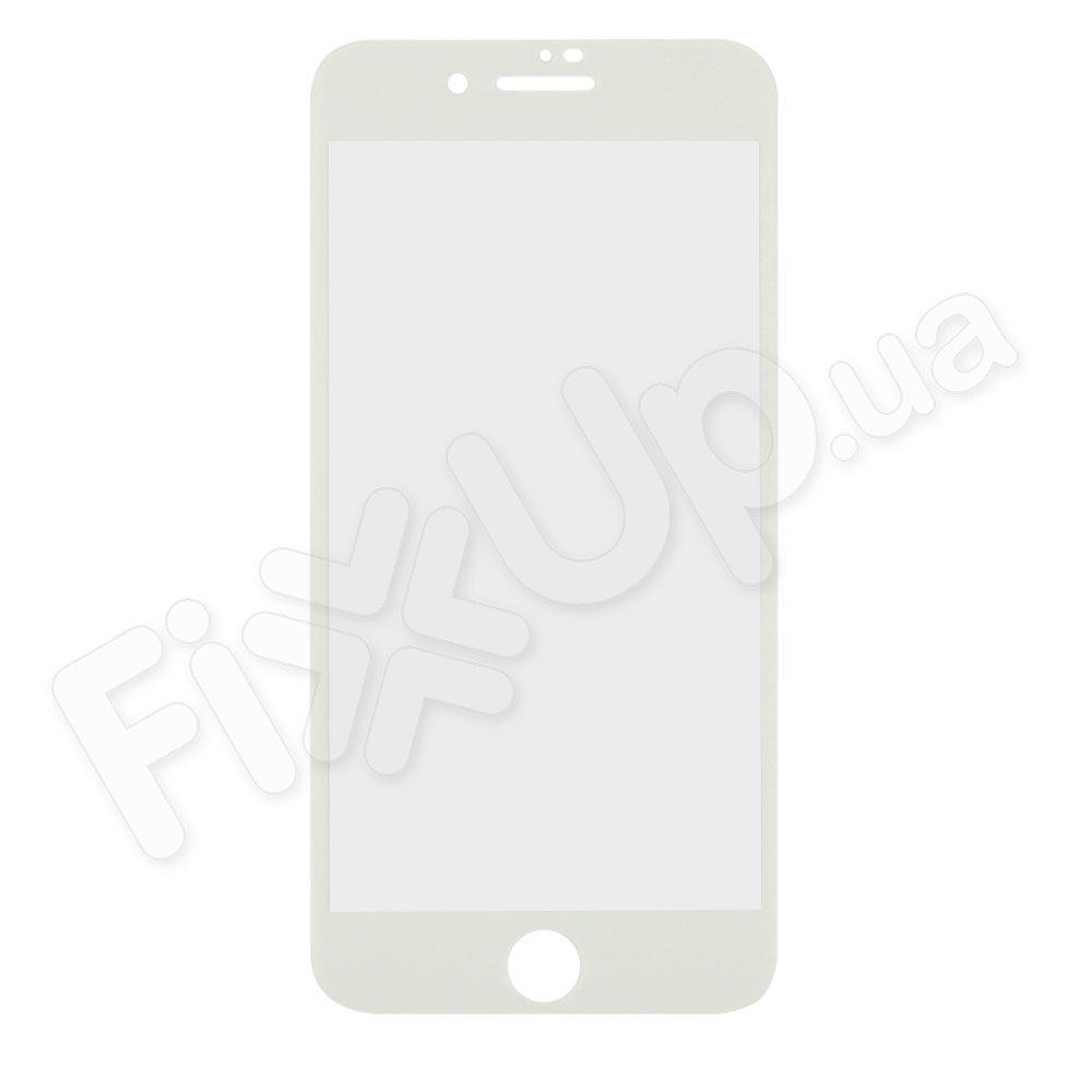 Защитное стекло для iPhone 7 Plus (5.5), 8 Plus (5.5), 3D 9H, цвет белый