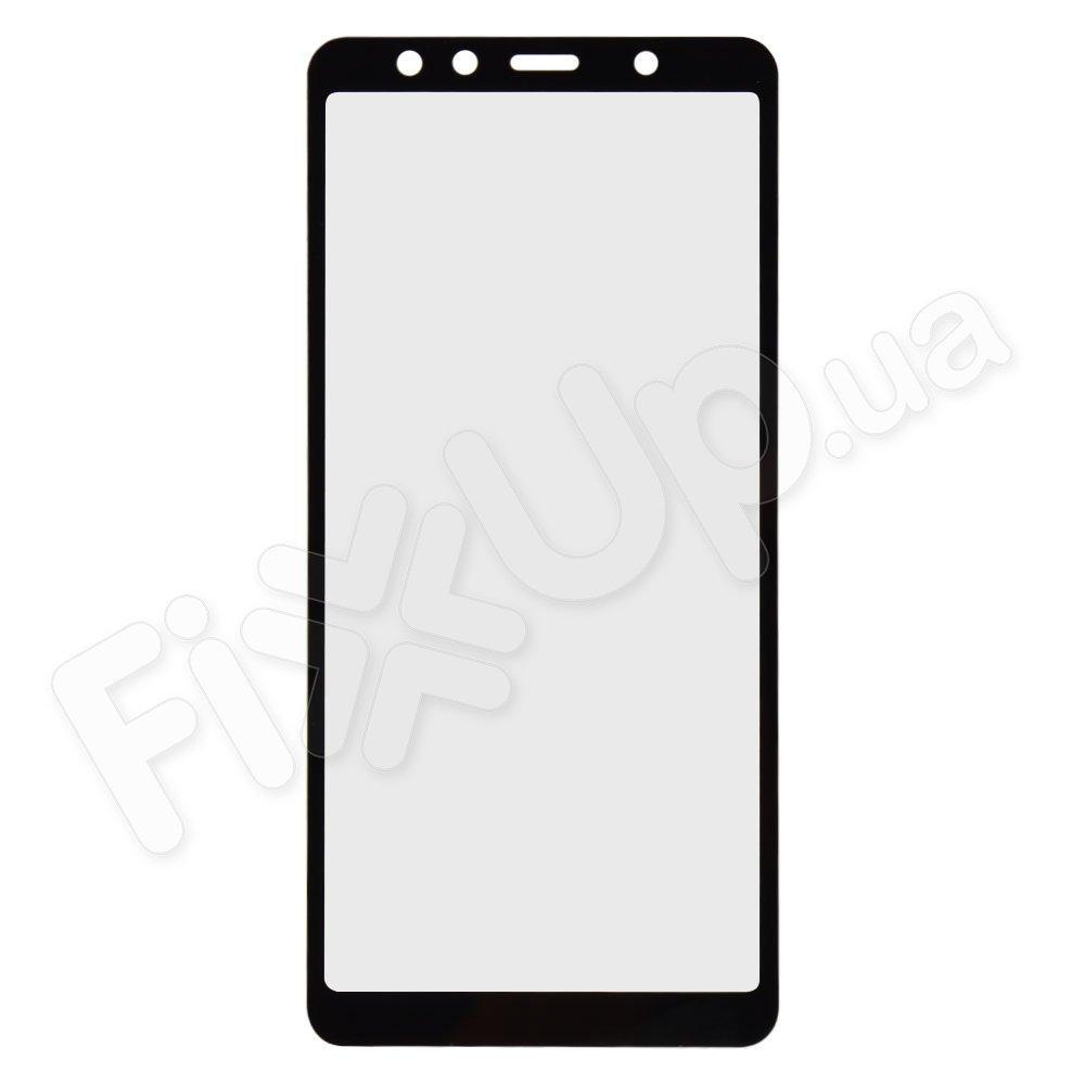 Защитное стекло для Samsung A750 Galaxy A7 (2018) 3D, цвет черный