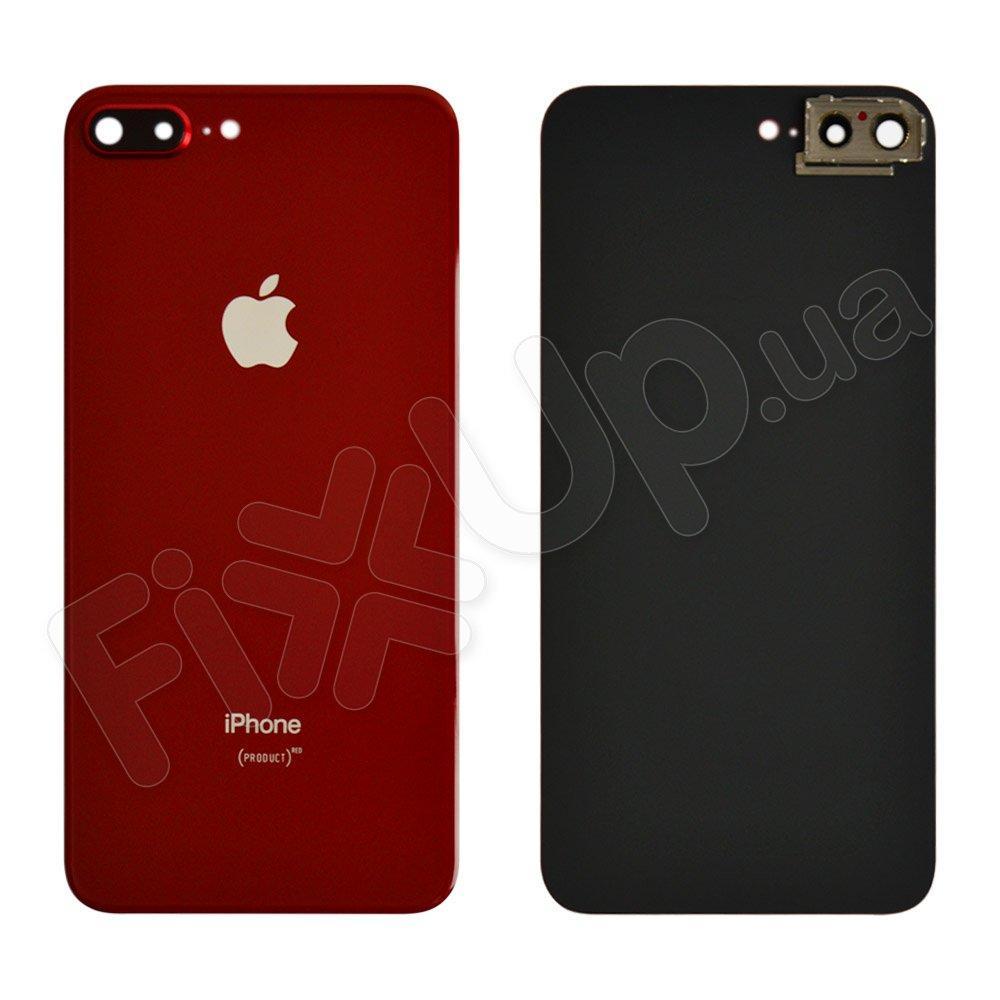 Задняя крышка для iPhone 8 Plus (5.5) с стеклом камеры, цвет красный