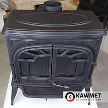 Чугунная печь KawMet S9 (11.3 KW) Premium со вторичным дожигом, фото 2