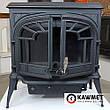 Чугунная печь KawMet S9 (11.3 KW) Premium со вторичным дожигом, фото 4