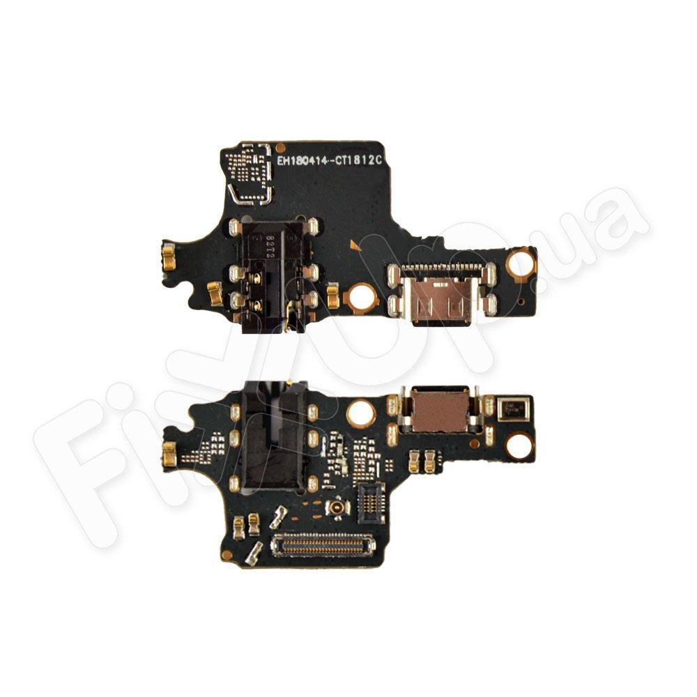 Разъем зарядки для Huawei Honor 10 с нижней платой