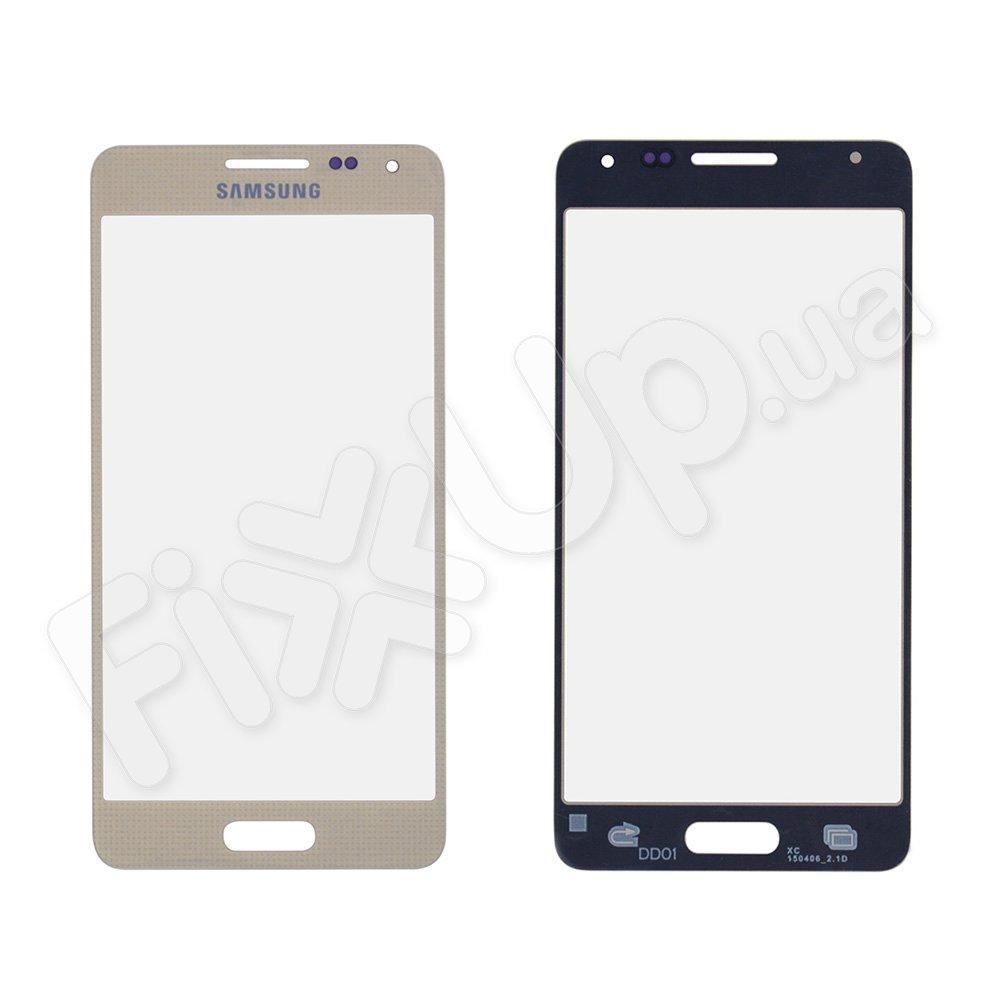 Стекло корпуса для Samsung G850F Galaxy Alpha, цвет золотой