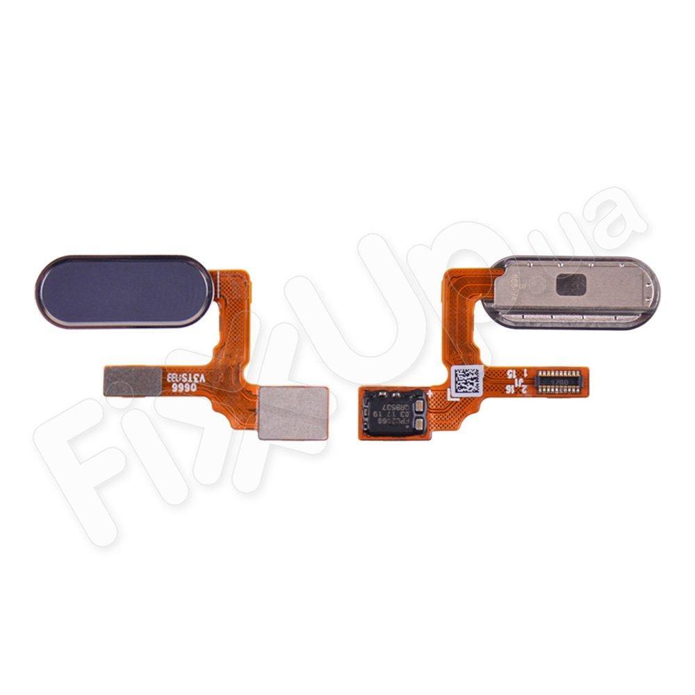 Шлейф для Huawei Honor 9 (STF-L09 STF-L19) с кнопкой Home, цвет серый