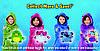 Детская толстовка плед худи с капюшоном и плюшевой игрушкой Huggle® Pet, фото 6