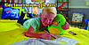 Детская толстовка плед худи с капюшоном и плюшевой игрушкой Huggle® Pet, фото 7