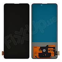 Дисплей для Xiaomi Mi9T, Mi9T Pro с тачскрином в сборе, цвет черный, TFT