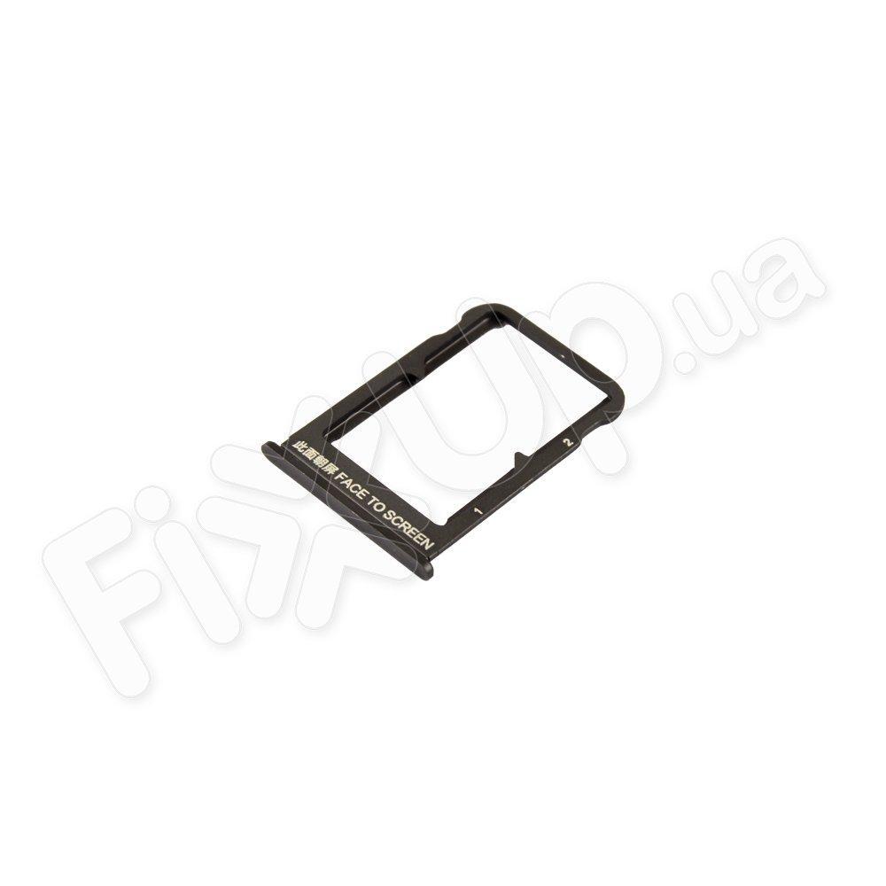 Держатель сим карты для Xiaomi Mi Mix 3, цвет черный