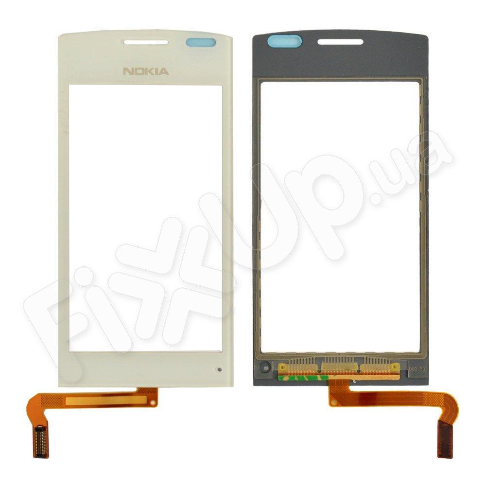 Тачскрин Nokia 500, цвет белый