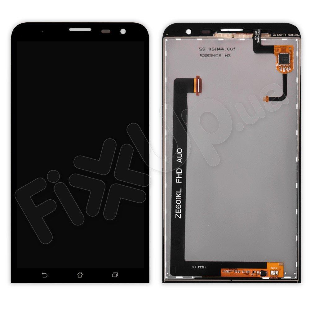 Дисплей Asus ZenFone 2 Laser (ZE601KL) с тачскрином в сборе, цвет черный