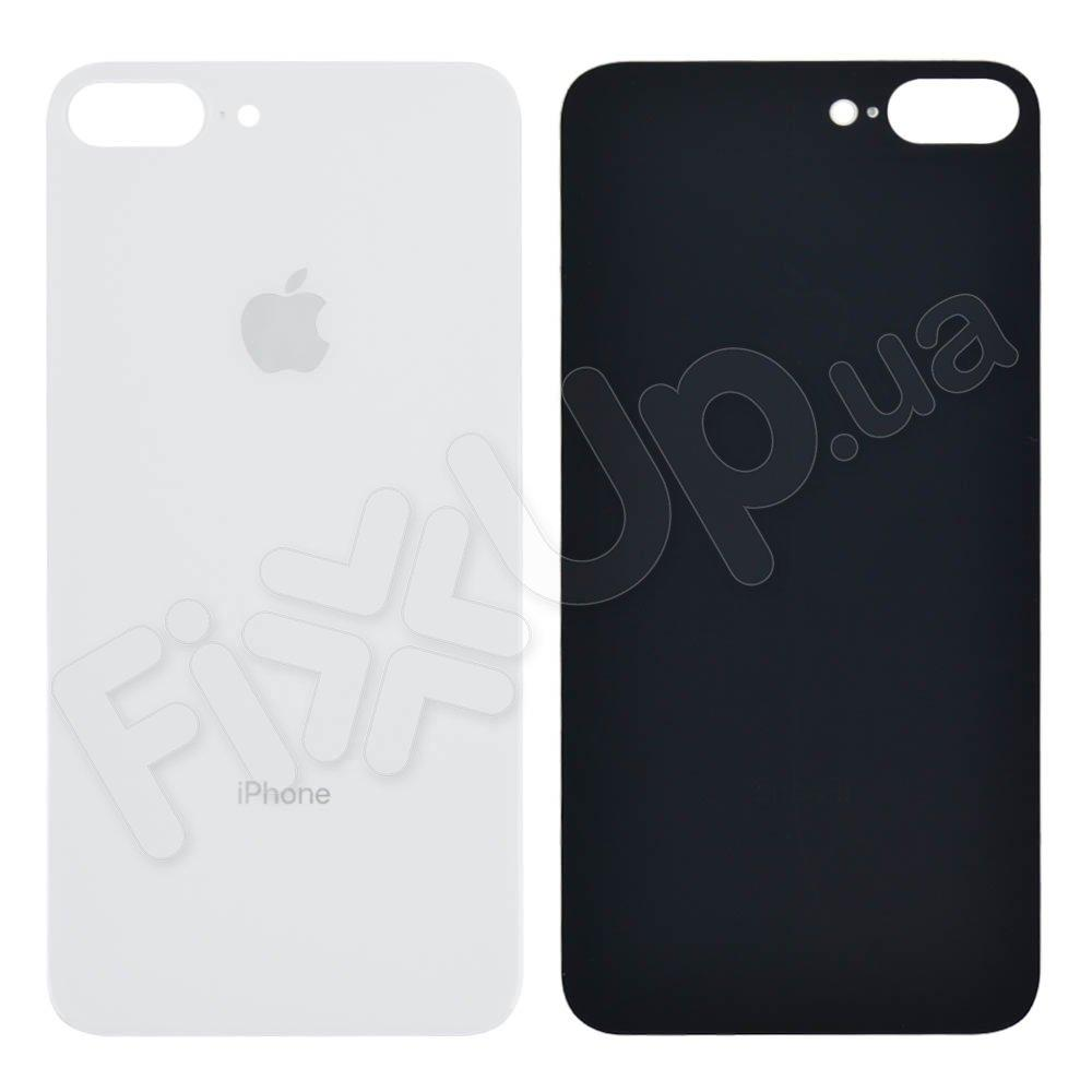 Задняя крышка для iPhone 8 Plus, цвет серебро, с большим отверстием под камеру