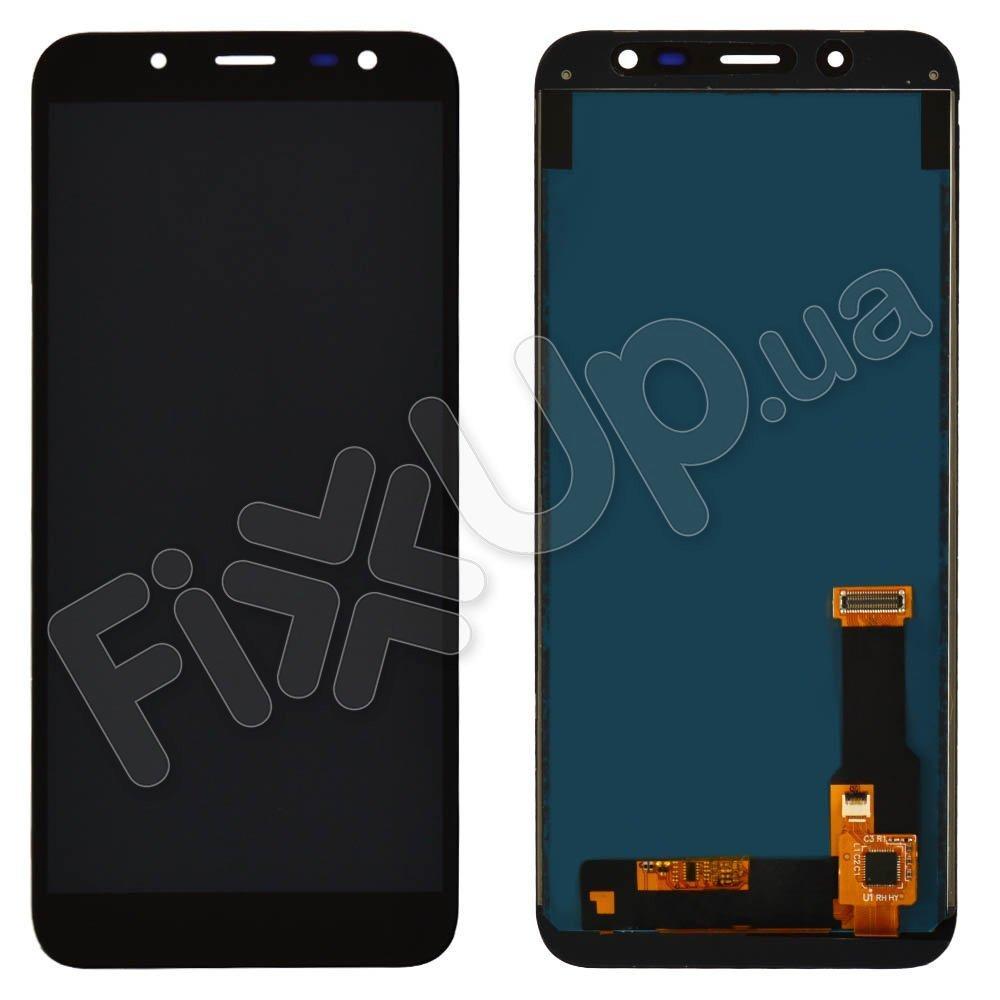 Дисплей для Samsung j600H/DS Galaxy J6 (2018) с тачскрином в сборе, цвет черный, TFT c регулировкой яркости