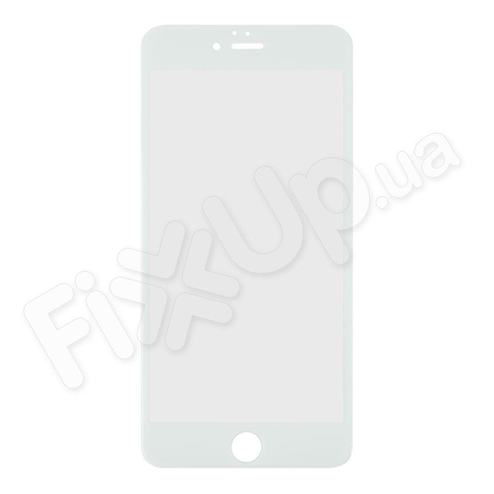 Защитное стекло 6D для iPhone 6 Plus, 6S Plus, цвет белый
