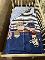 Детское Постельное Белье в Кроватку для Новорожденных 110*140 см- Сменное Постельное Белье 3D