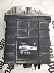 Блок управления двигателем (эбу) Volkswagen Golf 3 1h0907311f