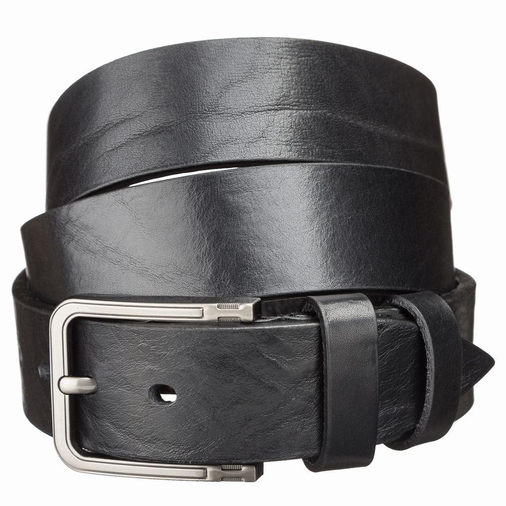 Ремень кожаный MAYBIK 15255 Черный