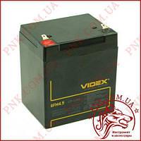 Аккумулятор свинцово-кислотный VIDEX 12V 4.5AH 6FM4.5 LEAD-ACID