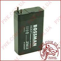 Акумулятор свинцево-кислотний Bossman 4V 1.8 AH/20HR (75*50*22)