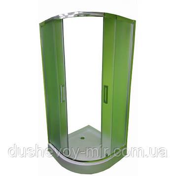 Душевая кабина Veronis KN-3-100 матовое стекло 100х100х195