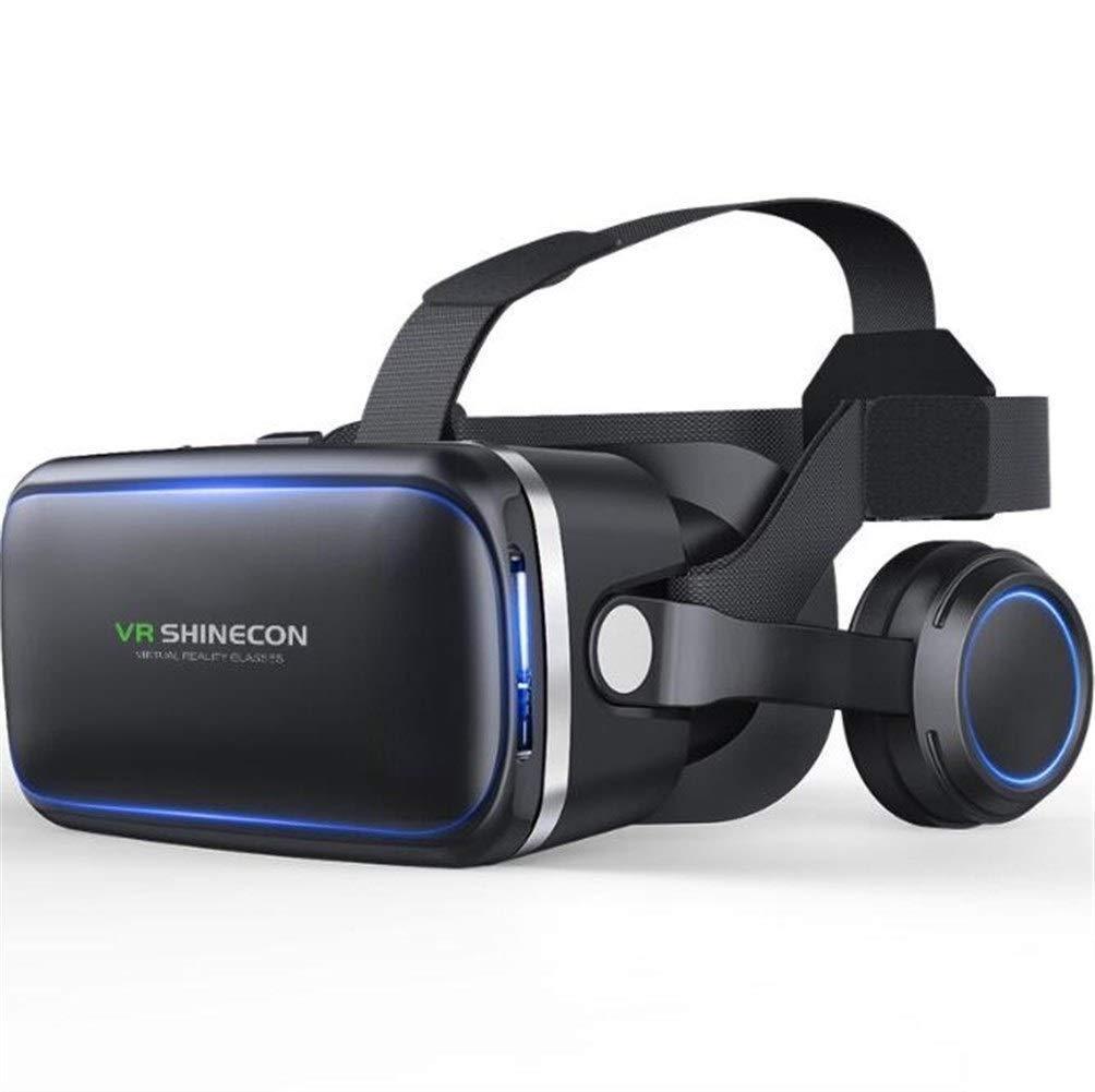 Гарнитура виртуальной реальности Shinecon SC-G04E с наушниками Черный (vrshscg04ebl)