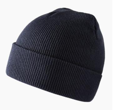 Стильная темно - серая шапка для мужчин