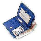 Кошелек женский ST Leather 18356 (S1101A) кожаный Синий, фото 4