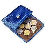 Кошелек женский ST Leather 18356 (S1101A) кожаный Синий, фото 5