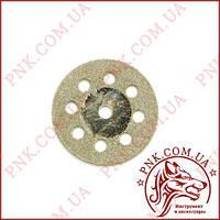 Коло метал 25мм/3мм алмазне напилення, перфорований