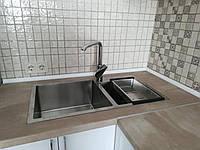Двойная мойка для кухни Germece HANDMADE 7843 HD-S001